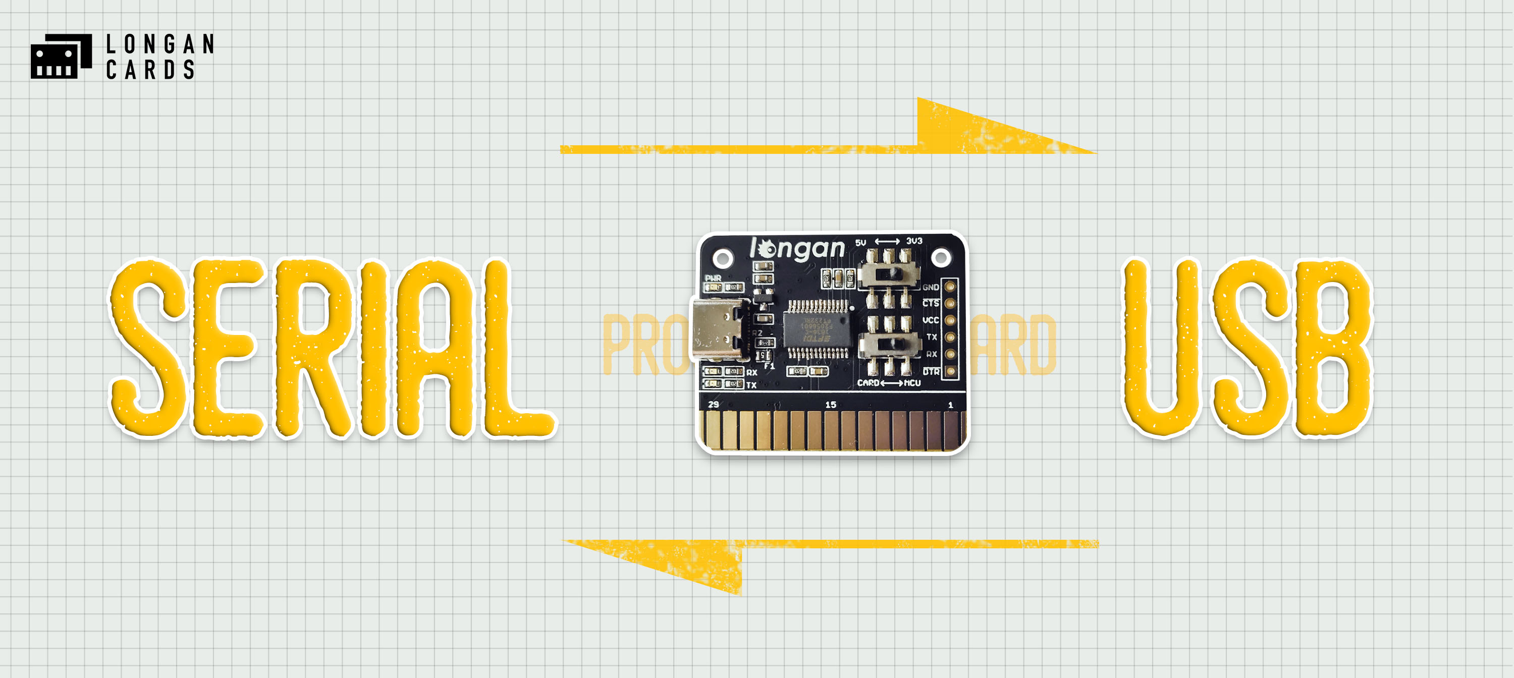 Programmer Card - Serial to USB