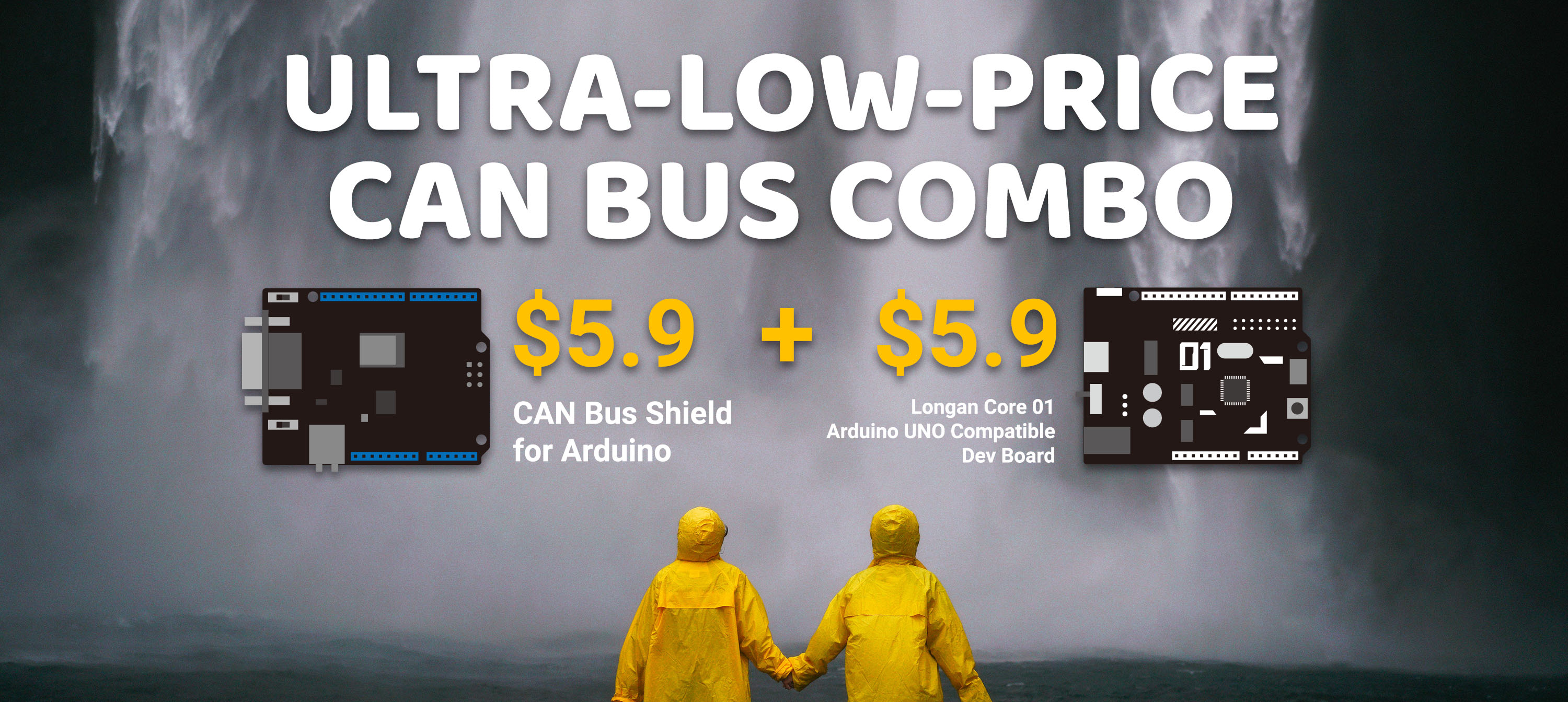 Arduino CAN Bus Combo